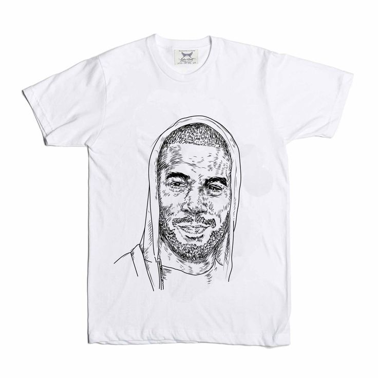Kid Cudi White Tee (Unisex) // T-shirt // Babes & Gents // www.babesngents.com