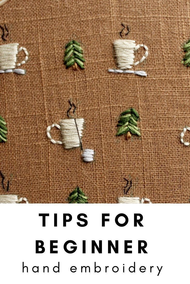 Learn how to Embroider- Tips for hand embroidery with details of resources and m