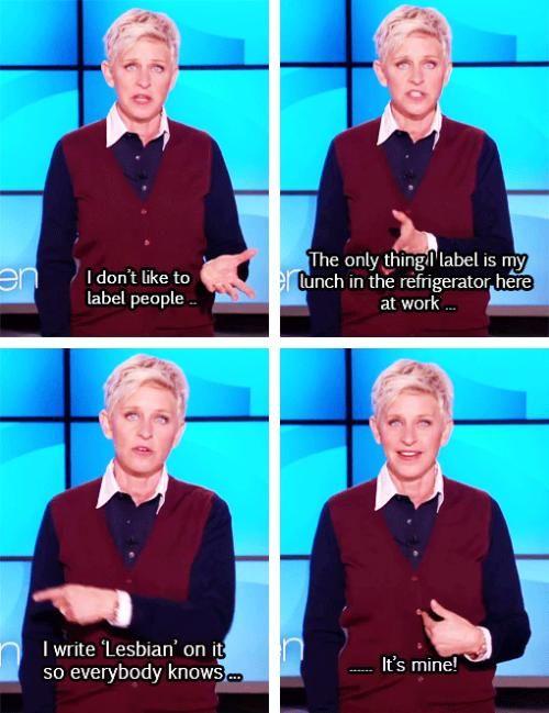 Ellen is my fave!