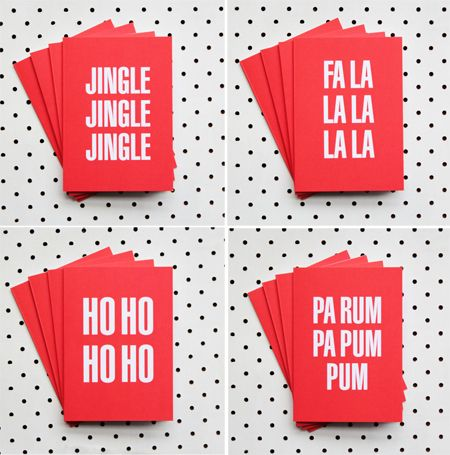 typo christmas cards: Christmas Cards, Idea, Akimbo Cards Jpg 450 455, Holiday Cards, Paper, Holidays Cards, Cards Inspiration, Xmas Cards, Greeting Cards Lett