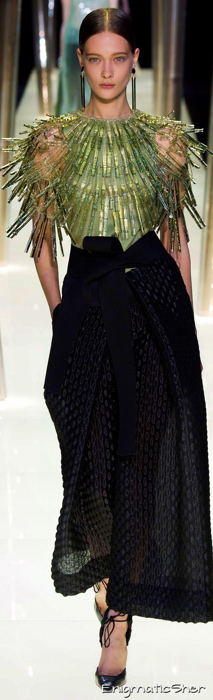 Giorgio Armani Privé Haute Couture Spring Summer 2015