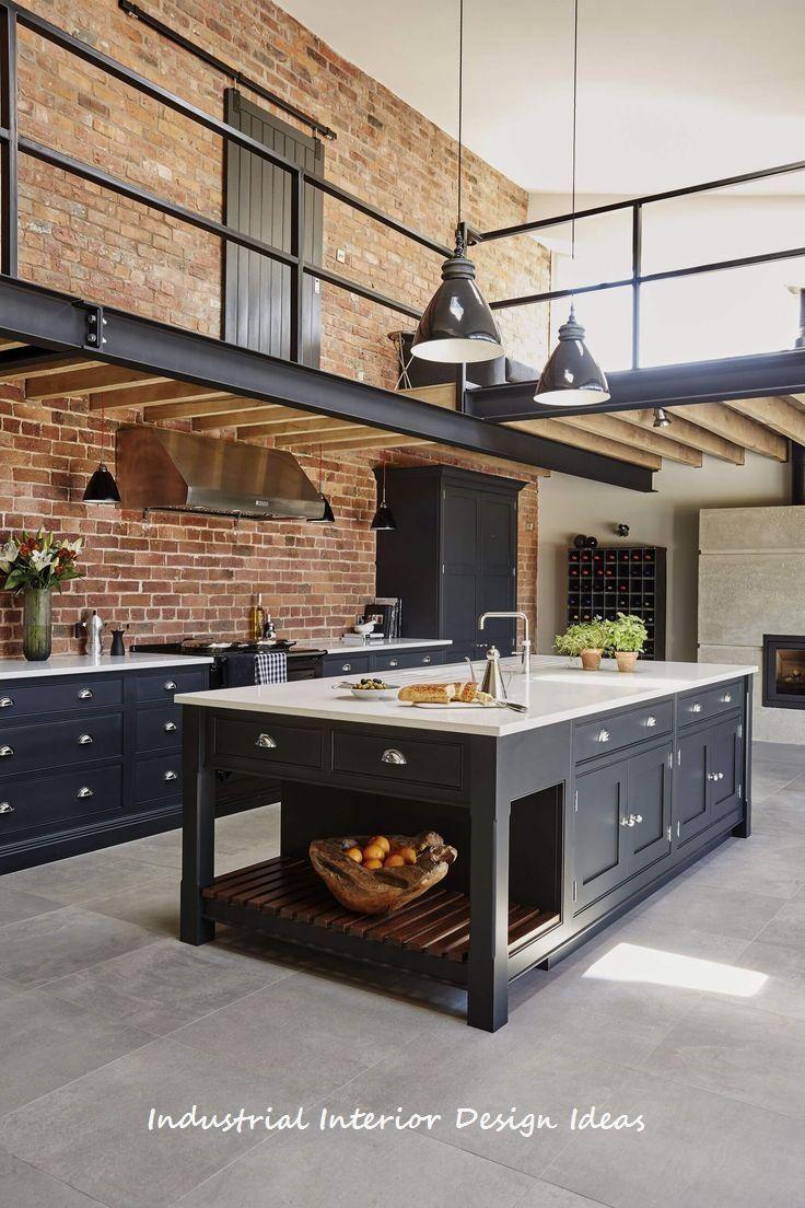 diy new industrial interior design ideas #interiordesign