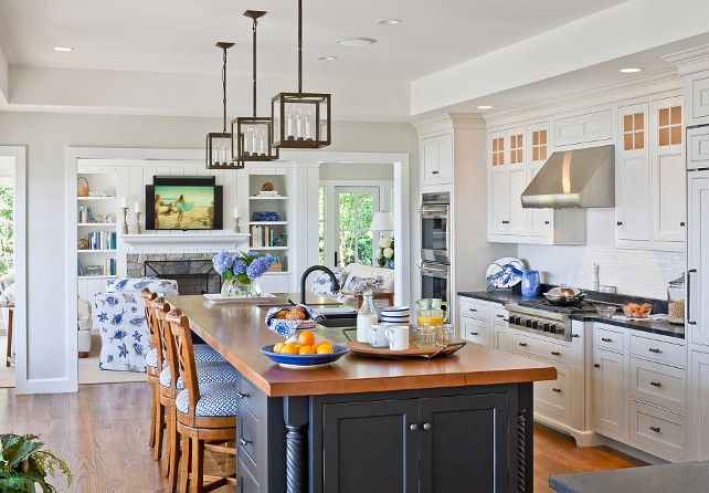 Navy Blue Kitchens That Look Cool And: 329 Best Images About Kitchens On Pinterest