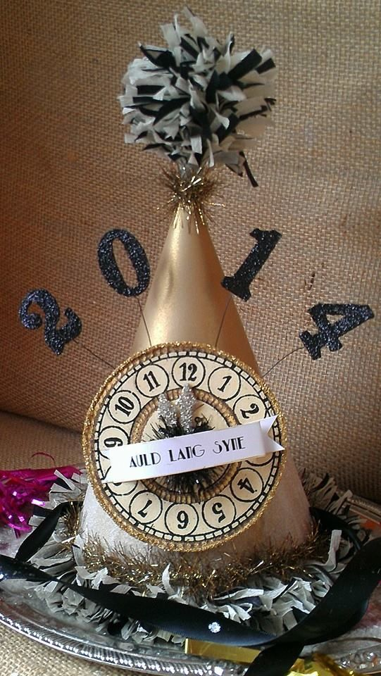 Paper Hats   20 + Last Minute New Years Eve Party Ideas