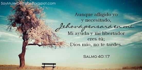 Salmo 40:17   IMAGENES CON VERSICULOS BÍBLICOS QUE A ...