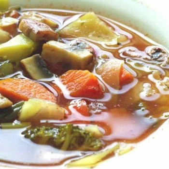 Zero Points Soup. A Weight Watchers Must.