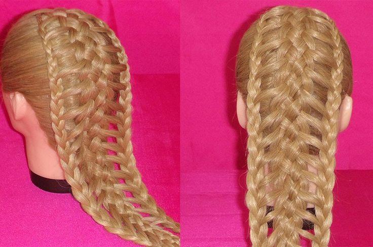 trenza extendida o escalera   #peinados #hairstyles #trenzas #braids #peinado #hairstyle #trenza #braid