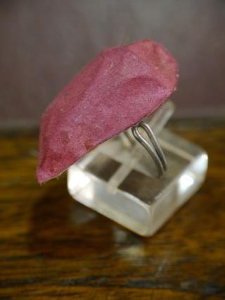 silk cocoon ring