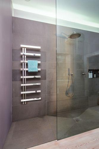 Bisque Designer Radiator - Alban towel radiator