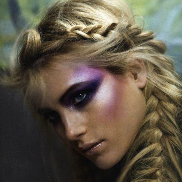Smokey purple fairy makeup :) | Make Up | Pinterest