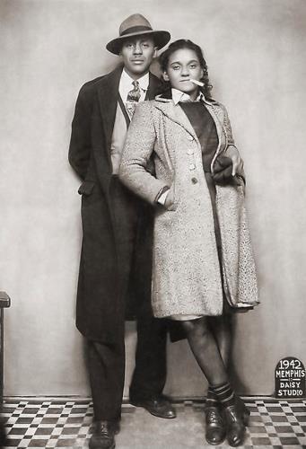 Unidentified couple (Memphis 1942).