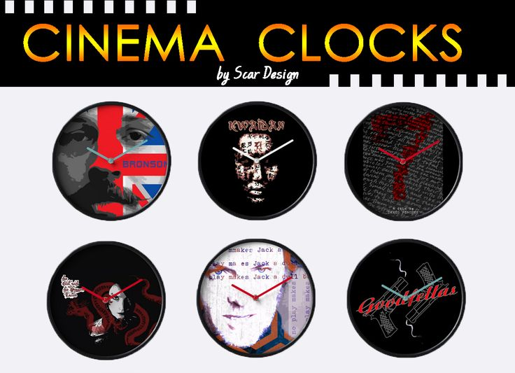 Cinema Movies Clocks. January 2017 discount by Scar Design. 25% OFF Wall Clocks. Use code: TIMEBLOCK25   #2017sales #sales #JanuarySales #2017 #movies #moviegifts #discount #redbubble #gifts #wallclocks #clock #buyclock #coolclock #homedecor #homegifts #home #giftsforhim #giftsforher #kidsroom #livingroom #buywallclock #buycoolgifts #redbubble