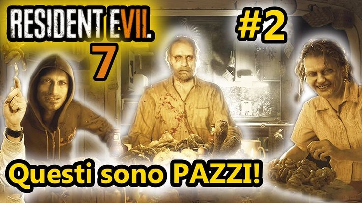 Resident Evil 7 - QUESTI SONO PAZZI! - Horror Android - (Salvo Pimpo's)