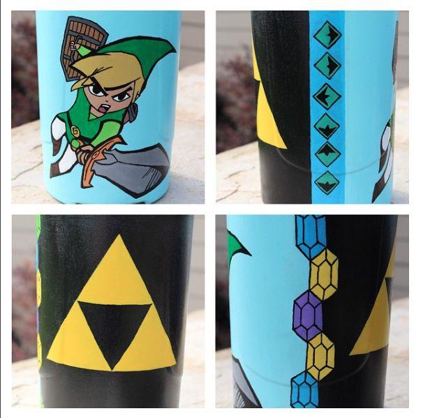 Water Bottle Zelda: Finished Zelda Water Bottle