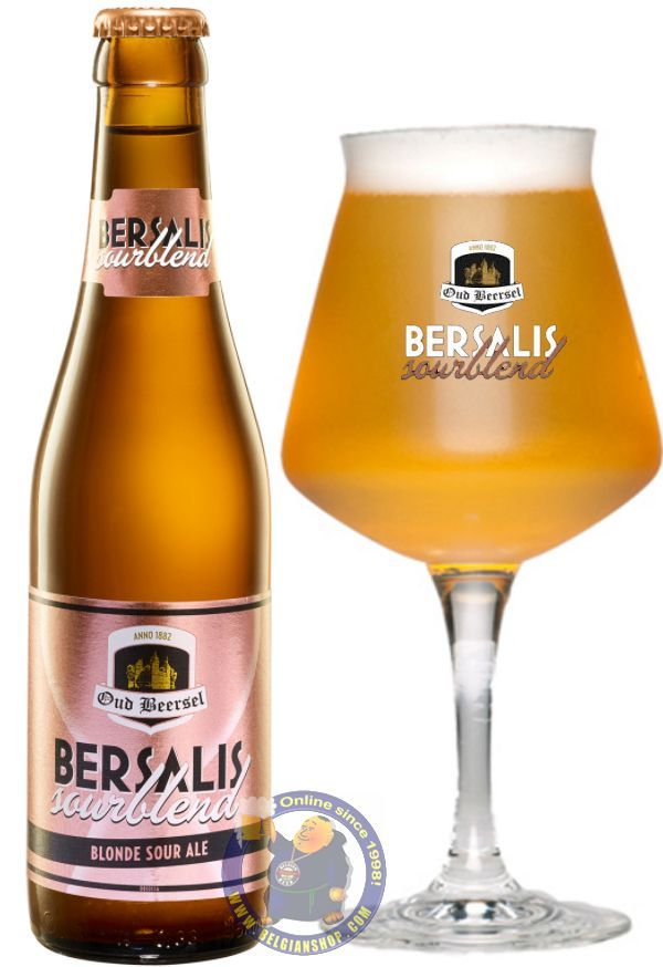 """Our New Beer: Bersalis Sourblend 6°  http://store.belgianshop.com/special-beers/2085-bersalis-sourblend-6-13l.html  To celebrate the 10 year anniversary of the revival of the Oud Beersel Brewery, the brewmaster transposed his blending skills on blending """"Ale"""" with """"Lambic"""" to create Bersalis Sourblend, a beer that will conquer the hearts of people that yet need to fall in love with the traditional Lambic beers. Bersalis Sourblend is a refreshing sour blonde ale with the malty character of a…"""