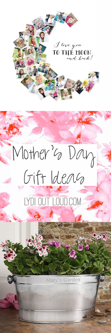 Tons of creative Mother's Day Gift Ideas!