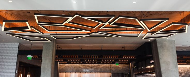 Custom Lighting designed and crafted by Karice Enterprises. Concept by Earls Design Team and Matthew McCormick Studios.