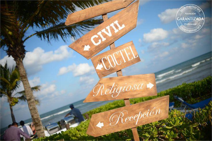 señalizadores de bodas    #LMideas #decoraciones #señalizadores #letreros