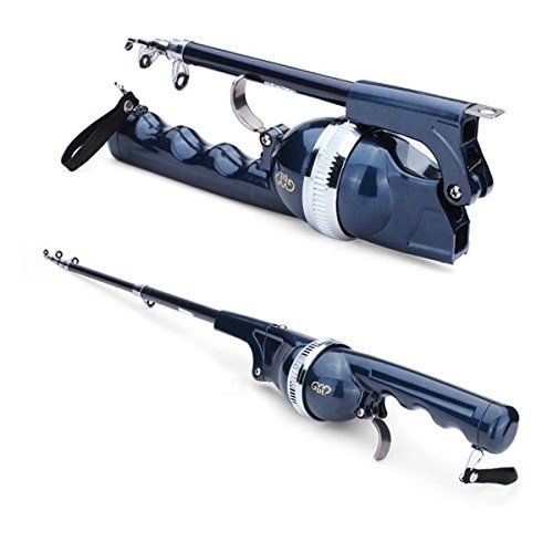 Folding Telescopic Sea Rods Suit Portable Fishing Poles. For product & price info go to:  https://all4hiking.com/products/folding-telescopic-sea-rods-suit-portable-fishing-poles/