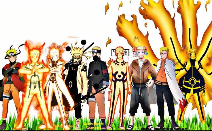 Naruto:All Characters Evolution (Naruto,Naruto Shippuden,Naruto ...
