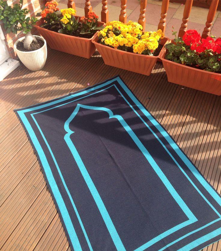 The Tayba Prayer Mat #prayermat #prayermats #prayerrug #salah #musallah #namaaz #theprayermatcompany #britishmade #designerprayermat