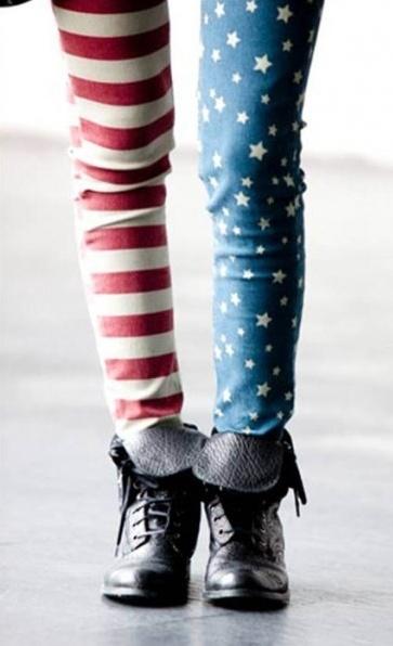 stars & stripes pants