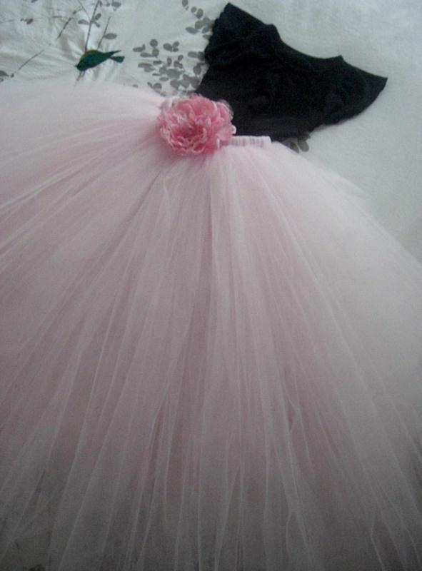 Full Length Powder Pink Tutu