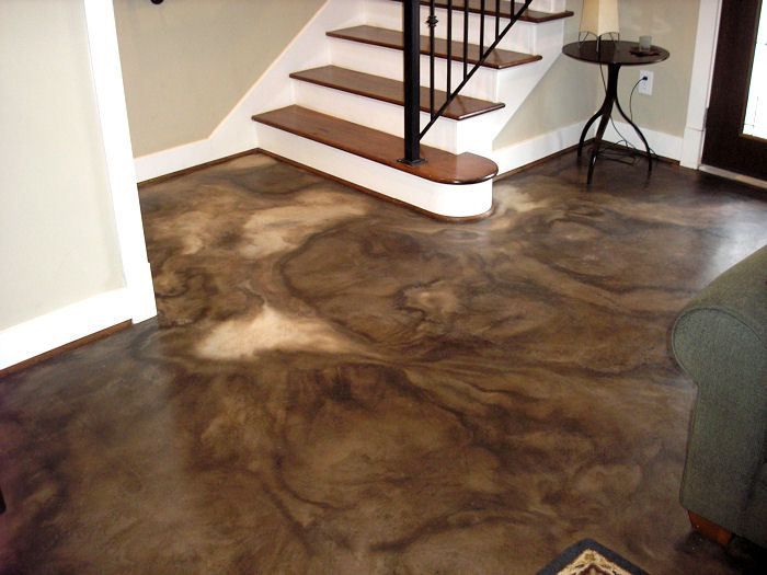 Image from https://i2.wp.com/classicstainedconcrete.com/images/Job_Photos/Mohr_stain/black_color_acid_staining_over_resurfaced_concrete_mhr_acid_stain_003_700x525.jpg.