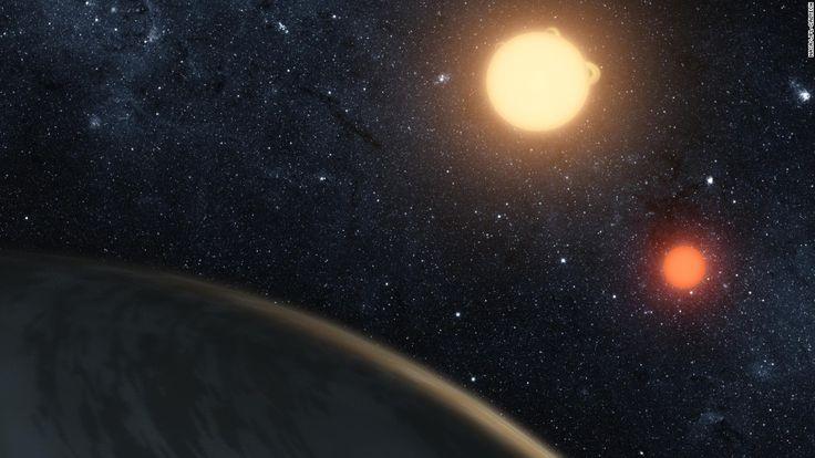 Illustrators get us up close with alien planets - CNN.com