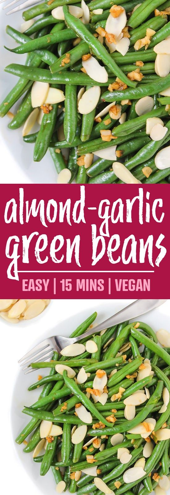 Almond-Garlic Green Beans