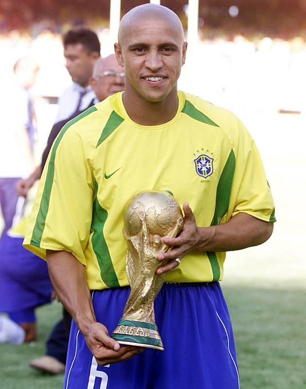 Roberto carlos the brazilian soccer player who played with Ronaldo