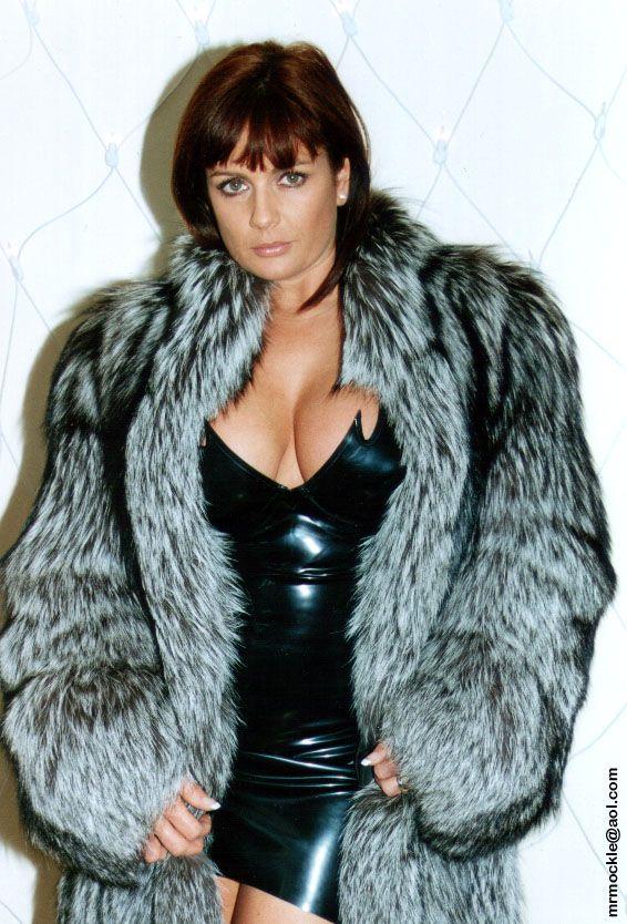 Teresa May In Fur Teresa May November 2002 Teresa