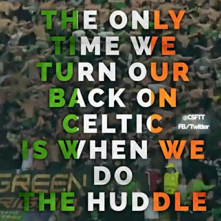LET'S ALL DO THE HUDDLE