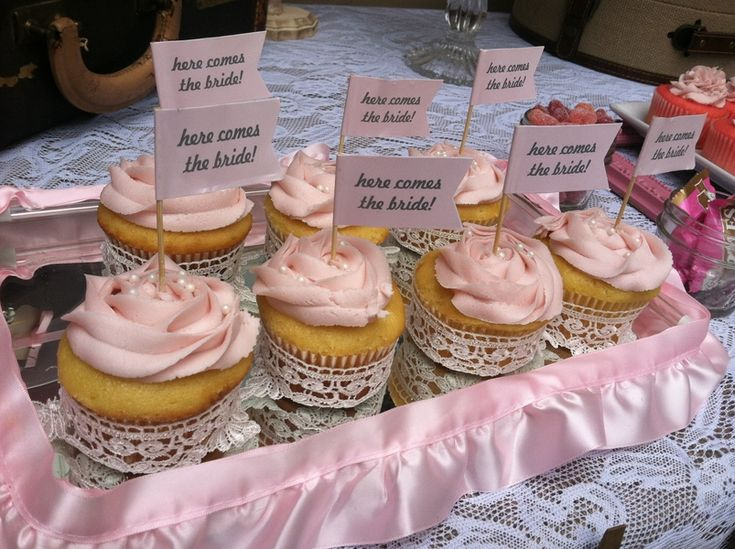 bridal shower dessert table by party envy