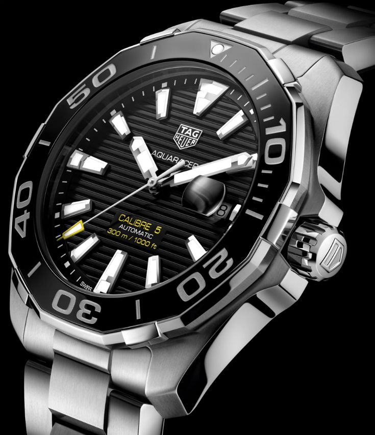 Updated TAG Heuer Aquaracer 300M & Full-Ceramic Aquaracer Lady 300M Watches Watch Releases