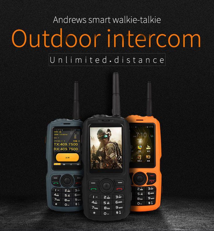 A17 3G Network WIFI 2800mAh IP68 Waterproof Zello
