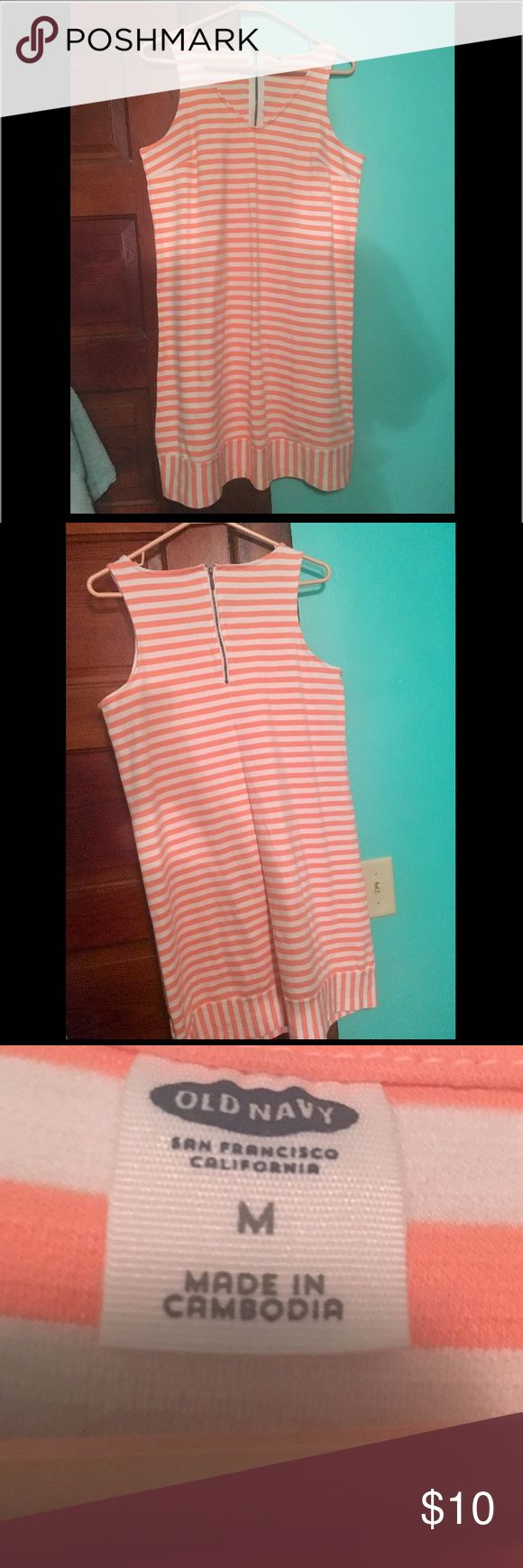 Old Navy Striped Dress Worn once, great condition. Old Navy Dresses