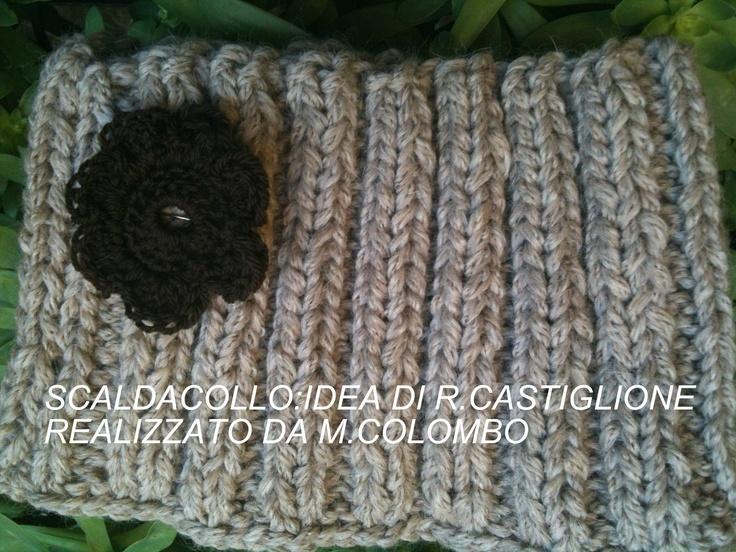 scaldacollo ai ferri: Creazioni Seguendo, Seguendo Social, Social Crochet