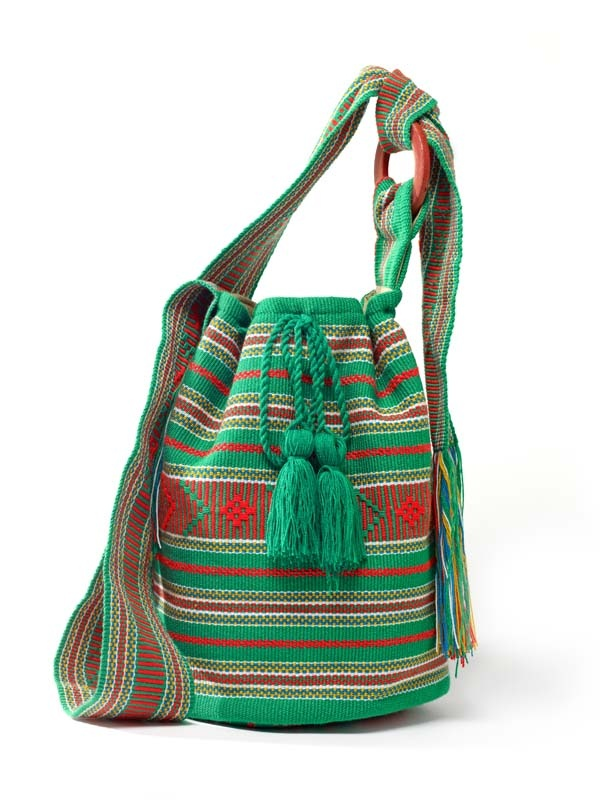 Lucy Mochila  SS 2013  Handwoven mochila on vertical loom  CordoBags exclusive design  www.CordoBags.com