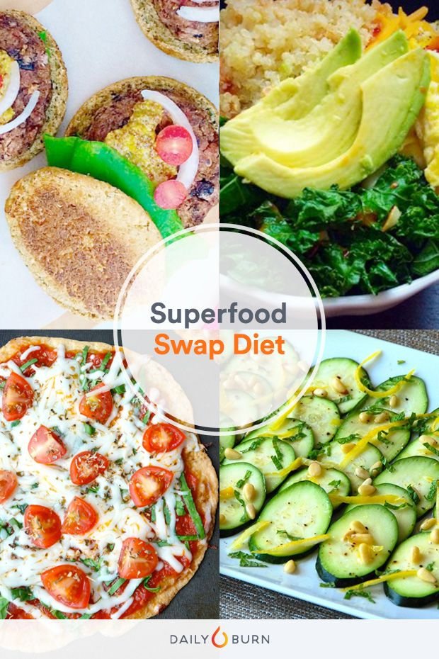 My Diet Is Better Than Yours: The Superfood Swap Diet. Dietitian Dawn Jackson Blatner