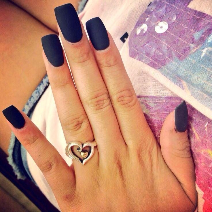 38 best Matte Acrylic Nails images on Pinterest | Cute ...