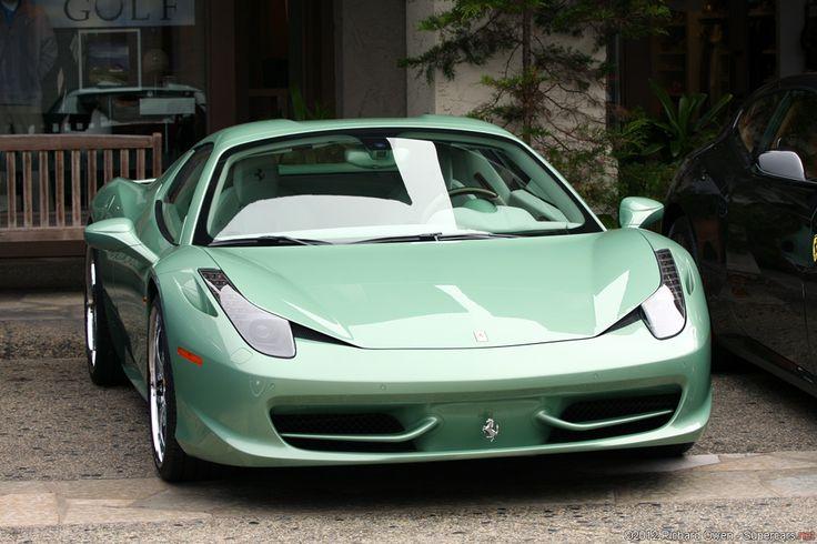 Rims For Cheap >> Ferrari 458 Spider in a rare mint green (whatever Ferrari ...