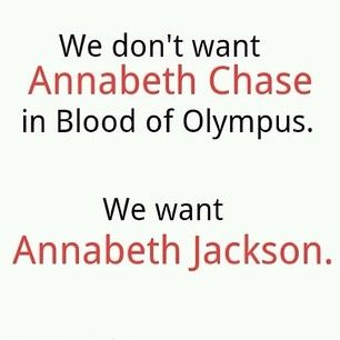 "First I was like ""I NEED MY ANNABETH!!?!!!!"" Then I was like ""Preach It"" < EXACTLY"