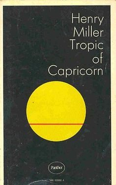 Image result for tropic of capricorn book