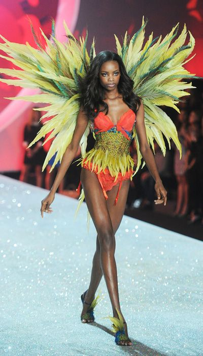 Victoria's Secret Fashion Show 2013 Highlights: See the Photos! - Maria Borges from #InStyle