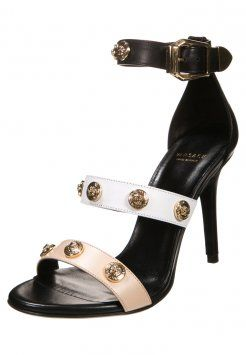 Versace - SIGNATURE - Sandaletter - nude/nero/oro