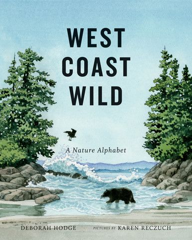 This stunning nature alphabet book explores the fascinating ecosystem of the Pacific west coast — a magnificent area that combines an ancient rainforest, a rugged beach and a vast, open ocean, and where whales, bears, wolves, eagles and a rich variety of marine species thrive in an interconnected web of life.