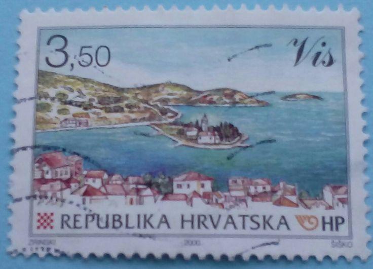 "Stamps 2000 "" Vis"", Croatia"