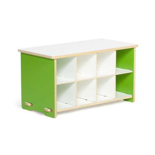 Found it at AllModern - Kids Cubby Shoe Bench