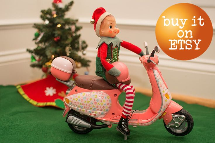Elf Props For Sale: Elf Vespa Scooter